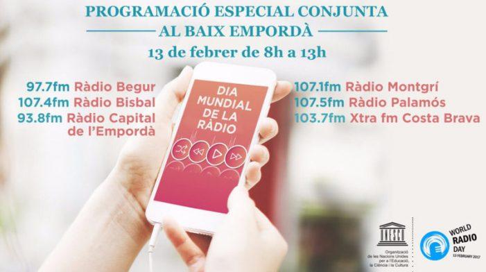 Sis emissores comarcals s'alien pel Dia de la Ràdio