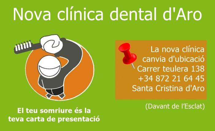 Nova clínica dental d'Aro
