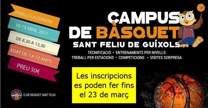 CAMPUS DE BÀSQUET DEL C.B. GUÍXOLS