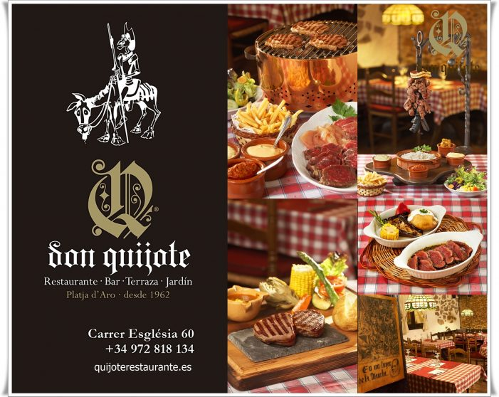 Don Quijote , Especialitats en carns a la brasa