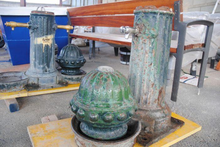 Restauració i manteniment de fonts d'aigua potable