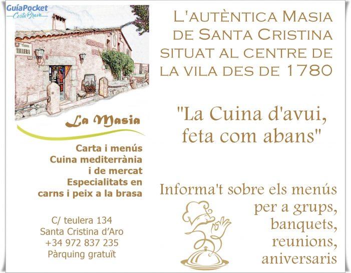 L'autèntica Masia de Santa Cristina