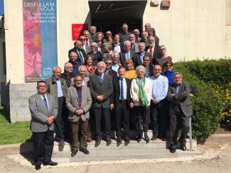 Josep Rius, present a l'Assemblea de Síndics Locals de Catalunya