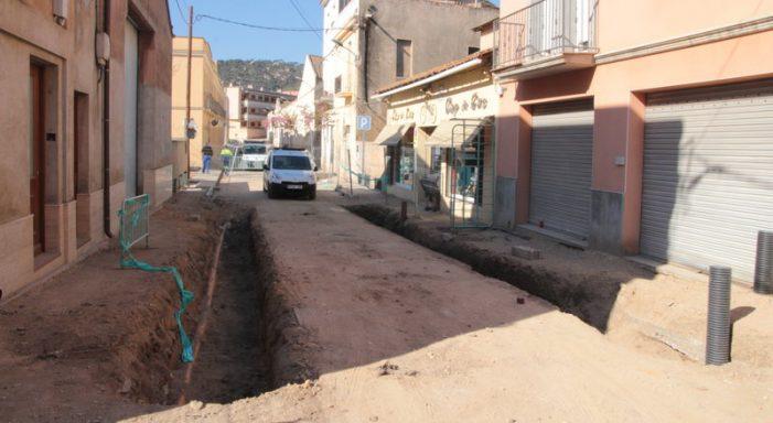 Comencen a excavar el nou dipòsit a la riera de Sant Amanç guixolenca