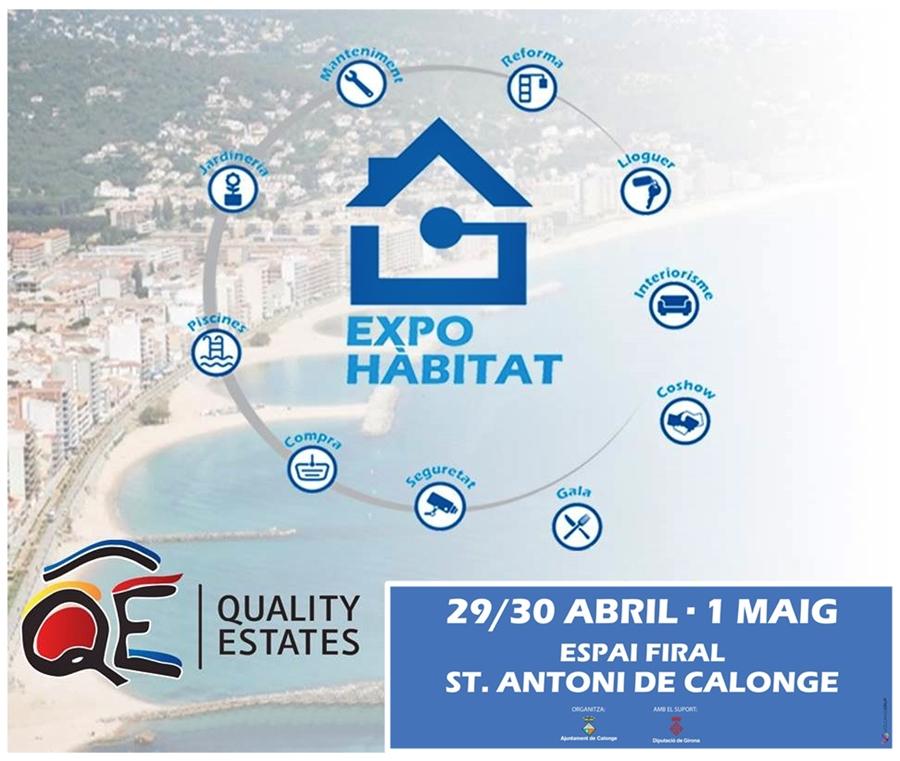 EXPO HABITAT '17. CALONGE – SANT ANTONI 29 I 30 d'abril i 1 de maig
