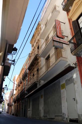 Sant Feliu farà deu pisos socials a l'antic Hotel Mediterraneo dels Anlló