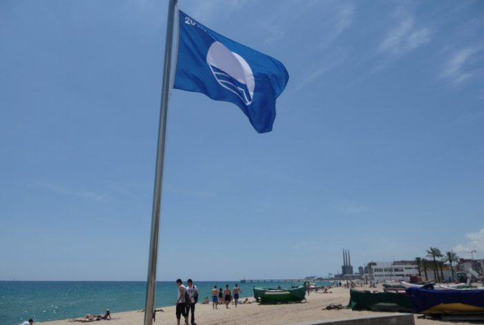 Les platges catalanes obtenen enguany 95 banderes blaves