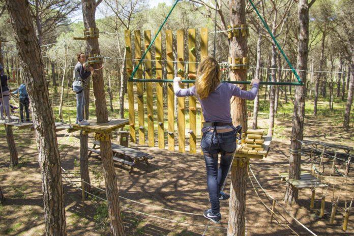 Inauguren el parc d'aventura més gran de Catalunya