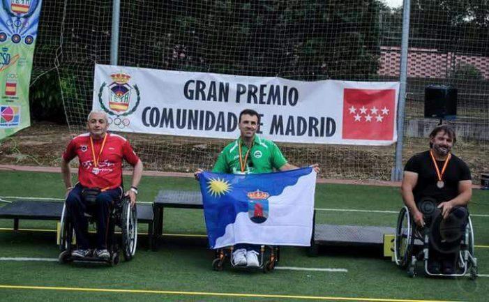 Jesús Martínez fa podi al Gran Premi d'Espanya