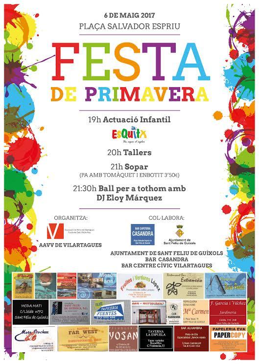 Festa de Primavera a Vilartagues: