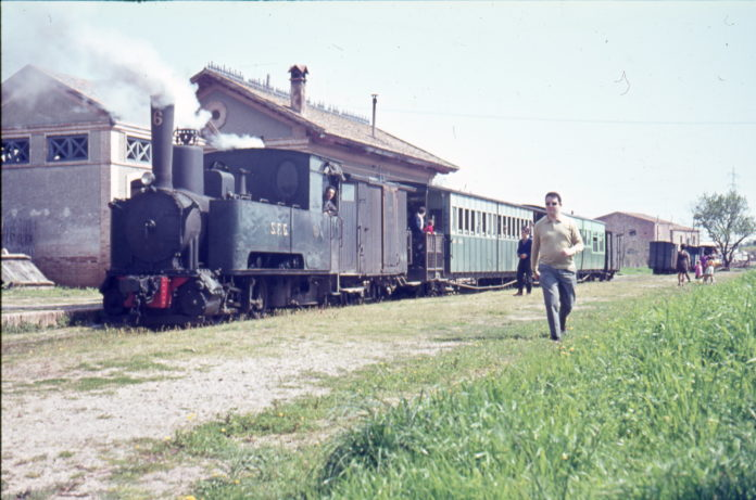 Inauguració de l'exposició dels 125 anys del tren a Girona