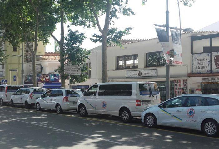La parada de taxis del centre de Platja d'Aro canvia de lloc
