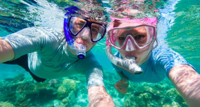 Snorkelling a la costa de S'Agaró