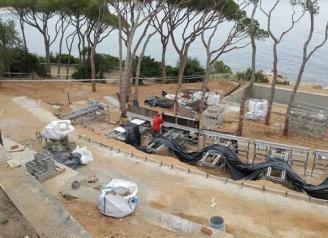 L'Ajuntament de Sant Feliu atura obres de l'Alàbriga i en precinta maquinària