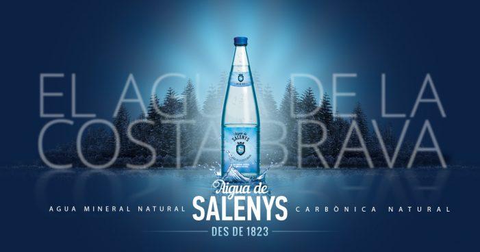 Aigua de Salenys l'aigua mineral carbònica natural de la Costa Brava