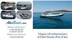 Descobreix les millors platges i cales de la Costa Brava amb Alex Boats