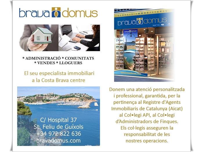 Brava Domus , El seu especialista immobiliari a la Costa Brava centre