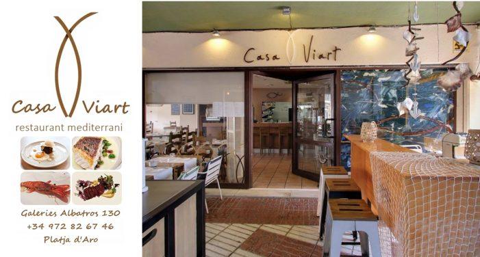 Casa Viart – Degusta la millor cuina de mercat a Platja d'Aro!