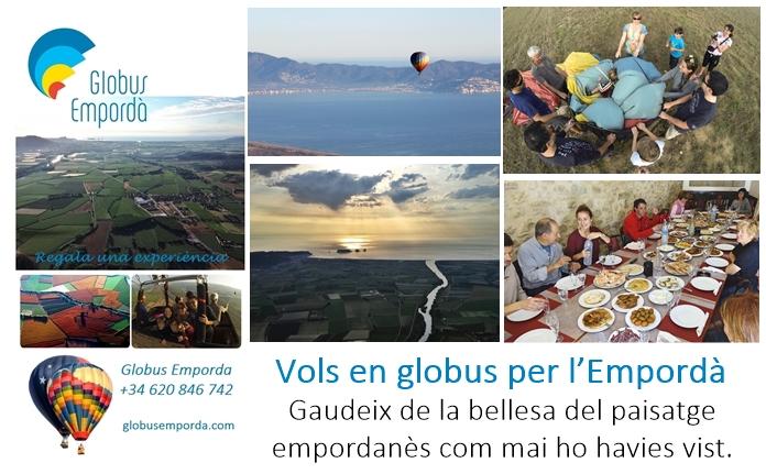 Vols en globus per l'Empordà, gaudeix de la bellesa del paisatge empordanès com mai ho havies vist.