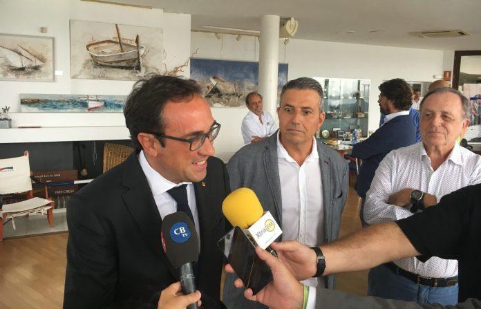 """El conseller Josep Rull aposta per inversions """"sostenibles"""" al Port d'Aro"""