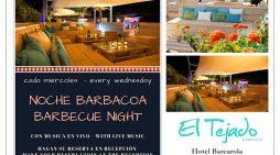 Hotel Barcarola, barbacoa amb música en viu