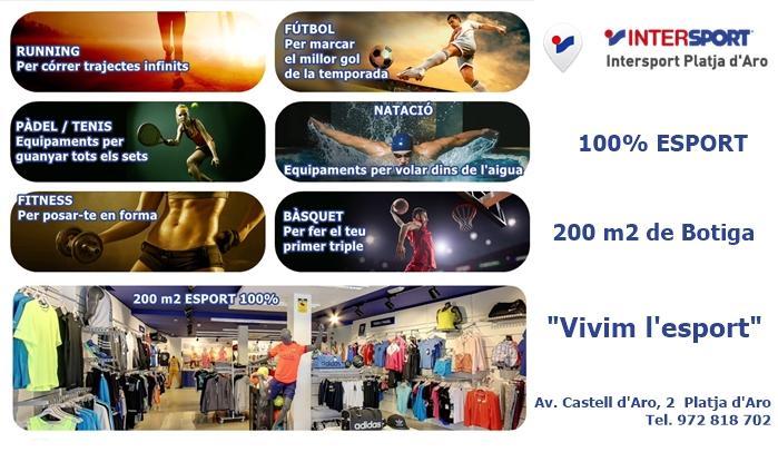 Intersport Platja d'Aro, vivim l'esport!!