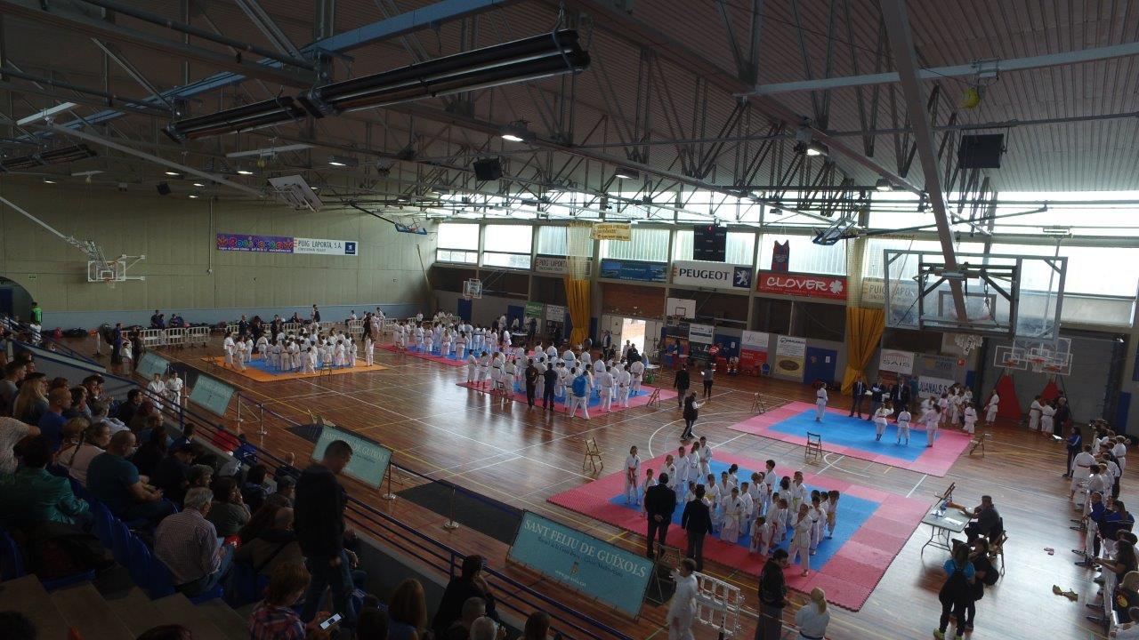 Campionat de Karate ciutat St. Feliu-Costa Brava