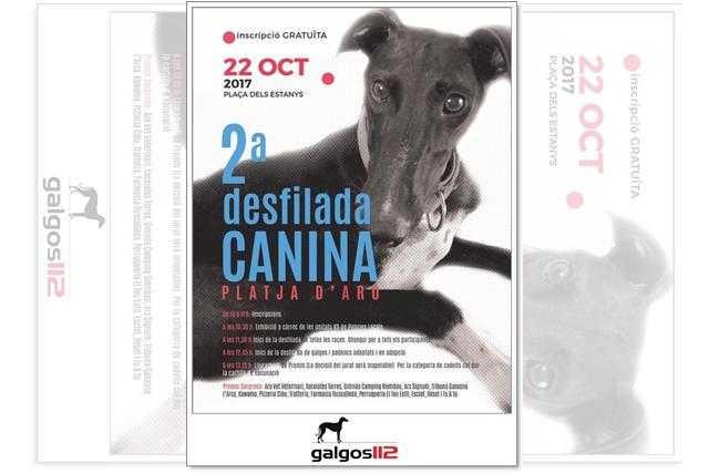 2ª Desfilada canina a Platja d'Aro