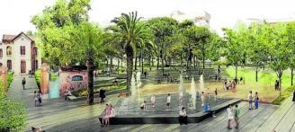 L'entorn de l'asil Surís serà un gran parc urbà de dos milions d'euros