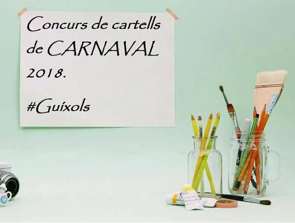 Nou concurs per al disseny del cartell del Carnaval 2018