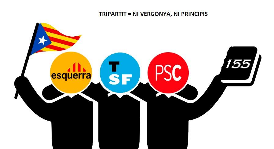El PDeCAT insta ERC a trencar el pacte de govern a Sant Feliu de Guíxols