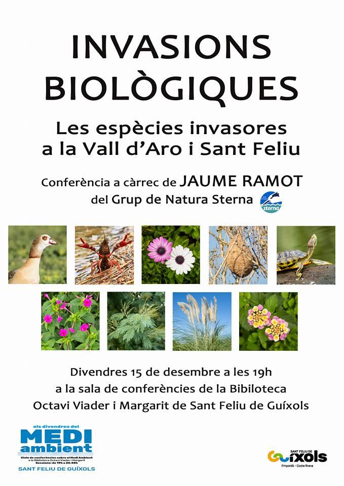 Conferència sobre espècies invasores a Sant Feliu