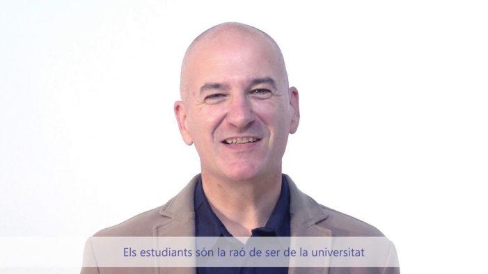 El ganxó Quim Salvi és escollit nou rector de la UdG