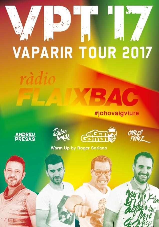 Festa Flaixbac de Cap d'Any al Guíxols Arena