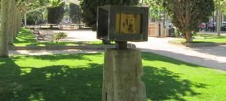 Sant Feliu rehabilita l'escultura dedicada a Fructuós de Gelabert