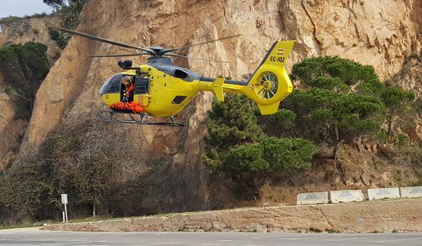 Rescaten el cadàver d'una noia a Sant Feliu de Guíxols