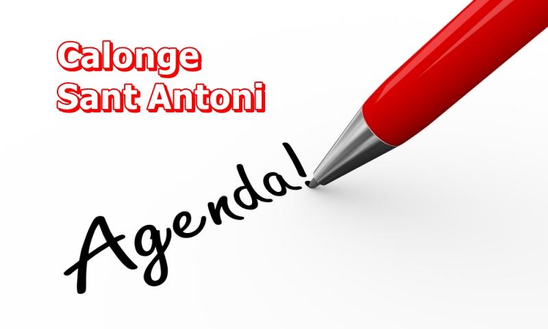 Calonge – St. Antoni ; Aquest cap de setmana …