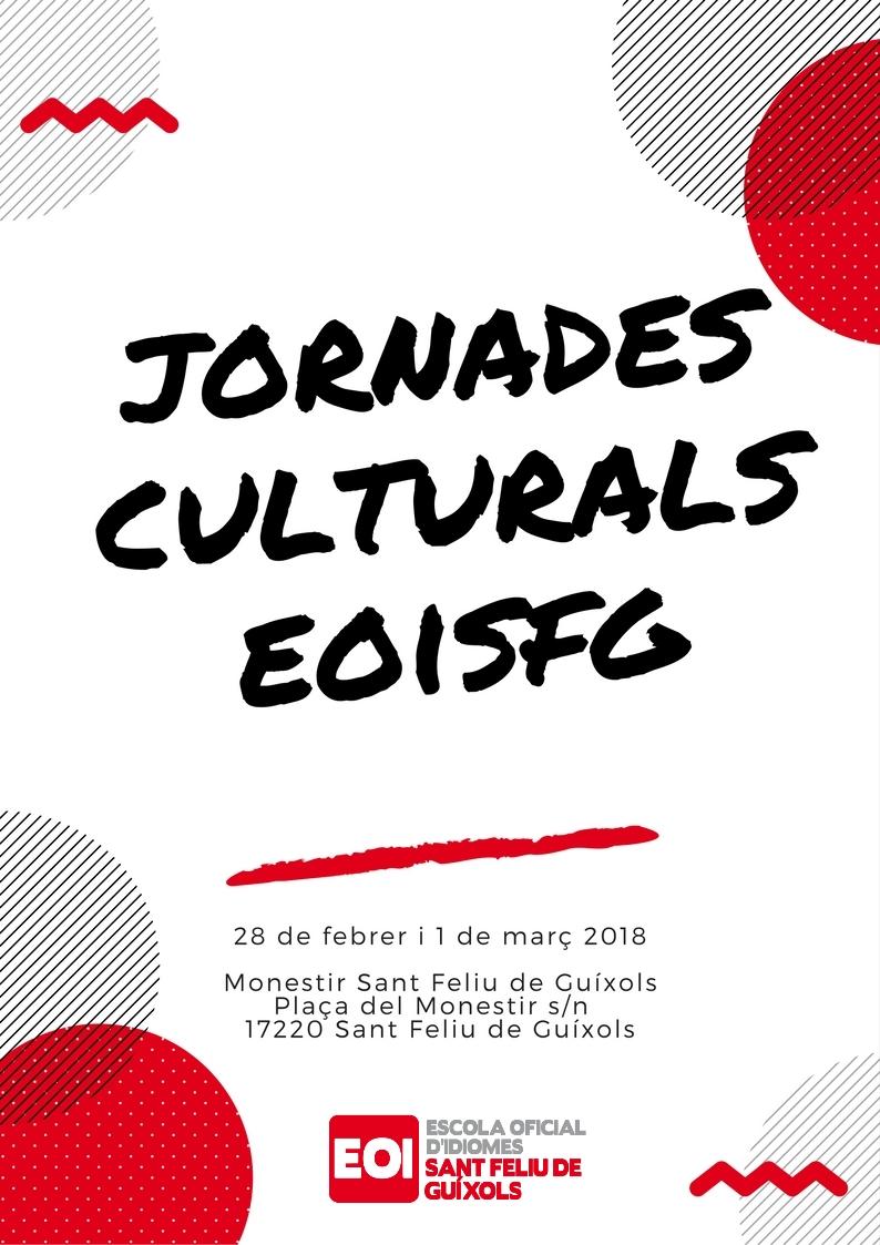 Primeres Jornades Culturals de l'EOISFG