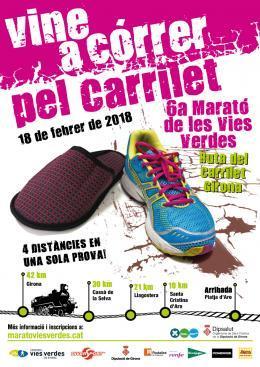 Santa Cristina d'Aro, amb la VI Marató de les Vies Verdes