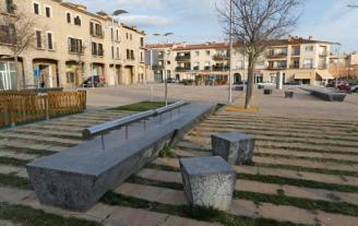 Santa Cristina vota avui batejar plaça 1 d'Octubre un espai que no té nom