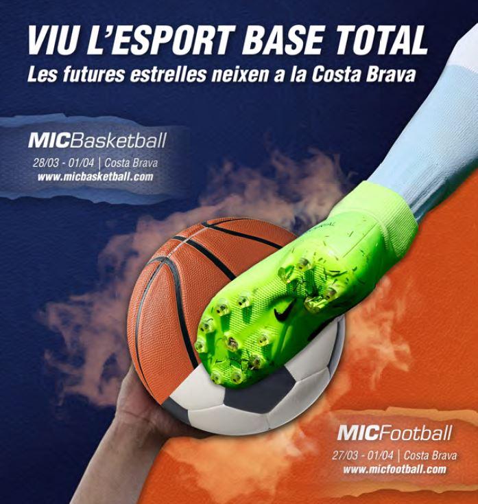 MICFootball i MICBasketball a Sant Feliu de Guíxols