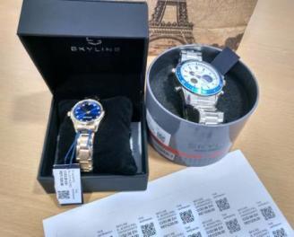 Detecten un estafador professional a Platja d'Aro venent rellotges falsos