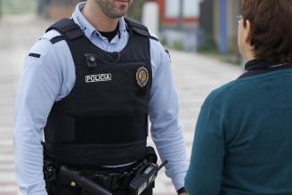 La policia de Platja d'Aro durà càmeres corporals
