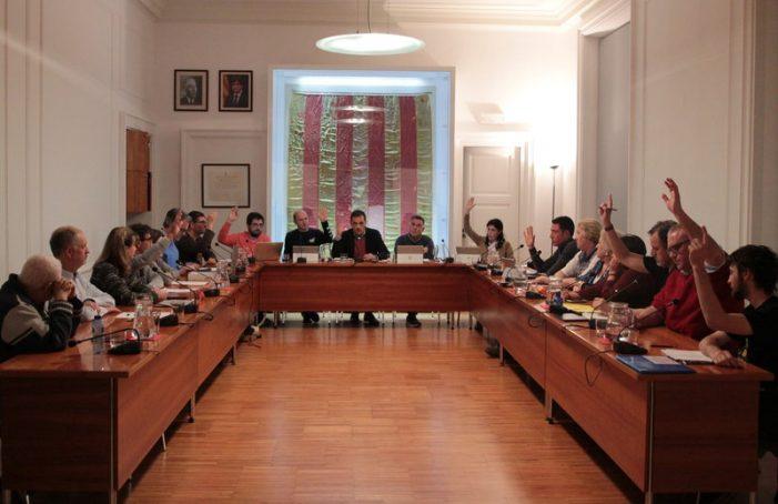 Suport a Valtonyc, a Sant Feliu, amb ERC