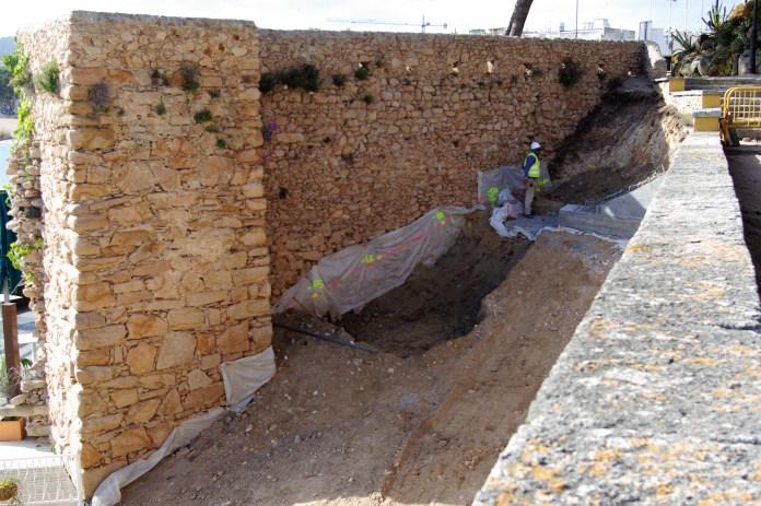 Demanen protegir el moll medieval de Sant Feliu de Guíxols