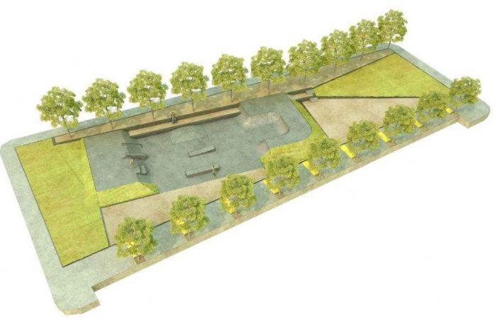 Santa Cristina farà una pista d'skate a una plaça del sector de la Teulera