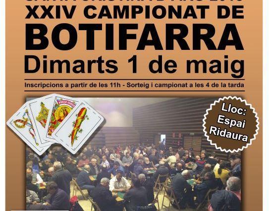 XXIV Campionat de Botifarra de Santa Cristina d'Aro
