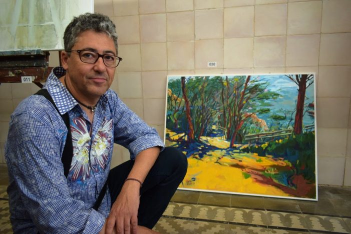 Juanjo Valeros guanya el primer premi del 8è Concurs de Pintura Ràpida