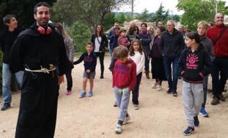 Santa Cristina d'Aro estrena una nova visita teatralitzada a l'església