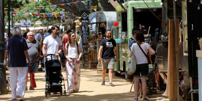 El Nomad Festival es fa un lloc en l'inici d'estiu de Sant Feliu de Guíxols